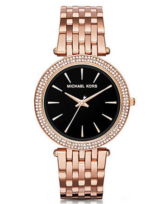 MICHAEL KORS  Darci Pavé Rose Women's Watch 39mm