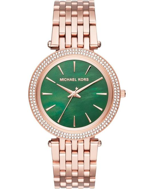 MICHAEL KORS  Darci Pavé Rose Gold Watch 39mm