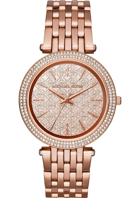 MICHAEL KORS  Darci Pavé Rose Gold Women's Watch 39mm