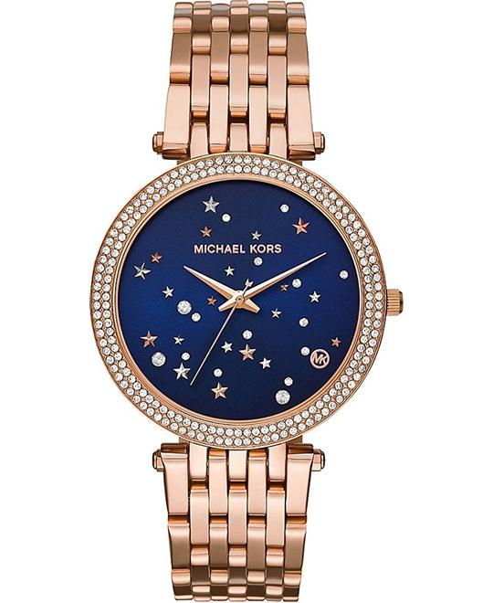 Michael Kors Darci Three-Hand Watch 39mm
