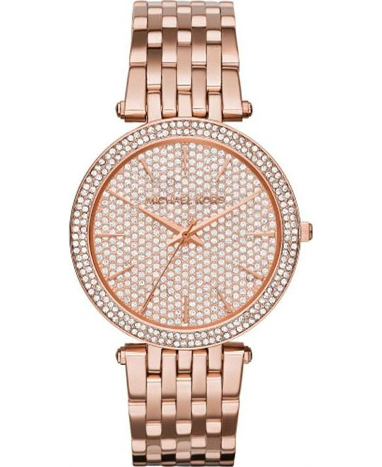 Michael Kors Darci Women's Rose Gold Watch 39mm