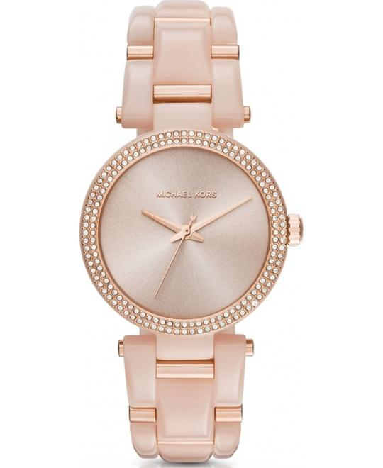 MICHAEL KORS Delray Rose Gold Ladies Watch 36mm