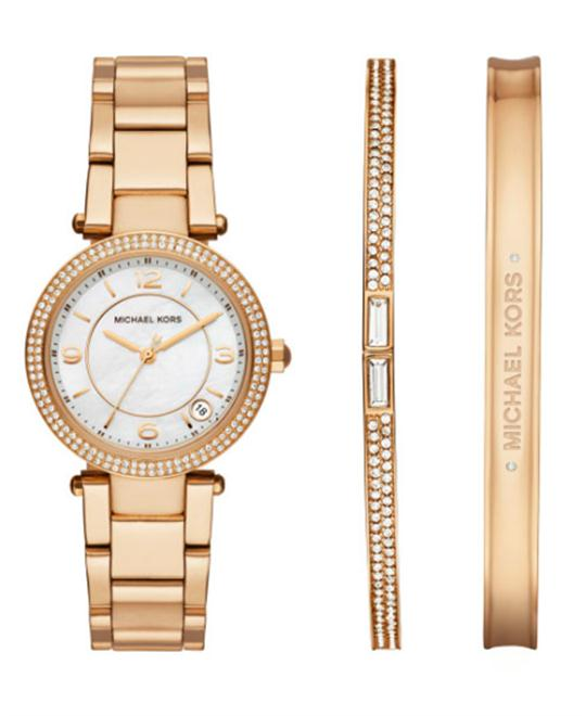 MICHAEL KORS Delray White Ladies Watch 33mm