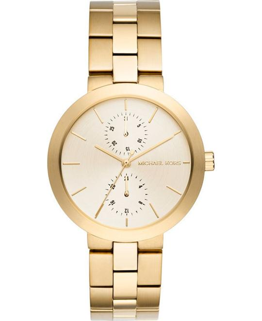 MICHAEL KORS Garner Gold-Tone Watch 39mm