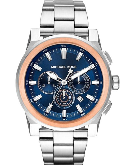 Michael Kors Grayson Chronograph Watch 47mm