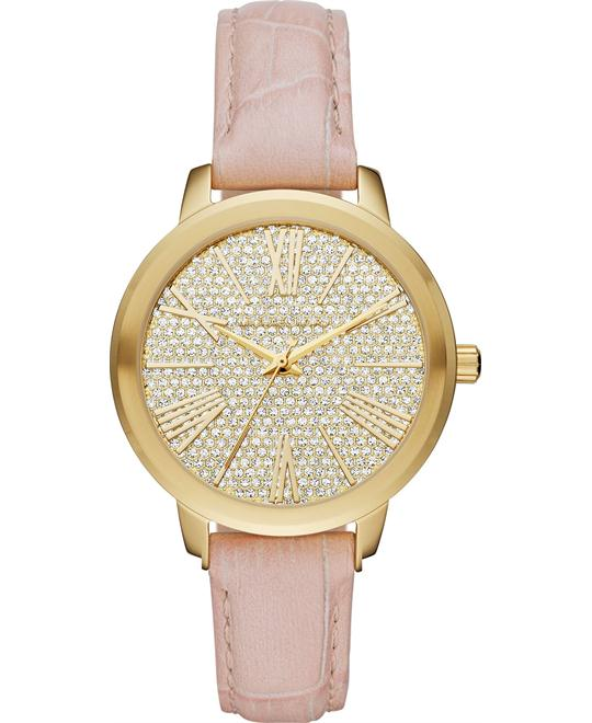 MICHAEL KORS Hartman Crystal Pavé Ladies Watch 38mm