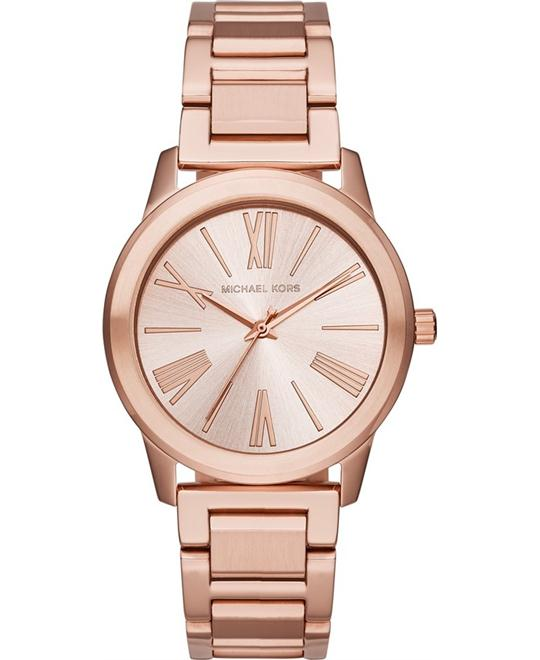 MICHAEL KORS Hartman Rose Gold Ladies Watch 38mm