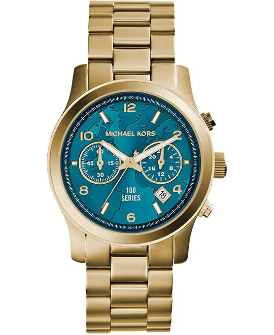 Michael Kors Hunger Stop100 Series Unisex Watch 38mm