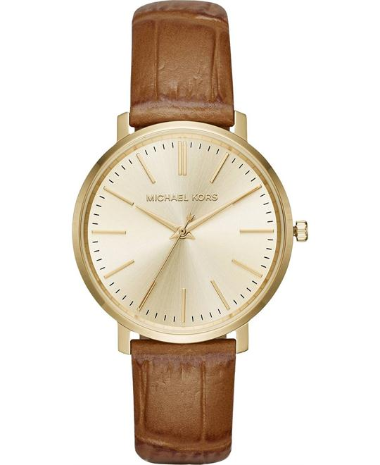 MICHAEL KORS Jaryn Gold Tone Dial Watch 41.5mm