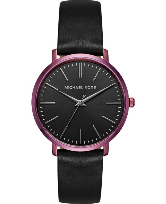 MICHAEL KORS Jaryn Plum-Tone Watch 38mm