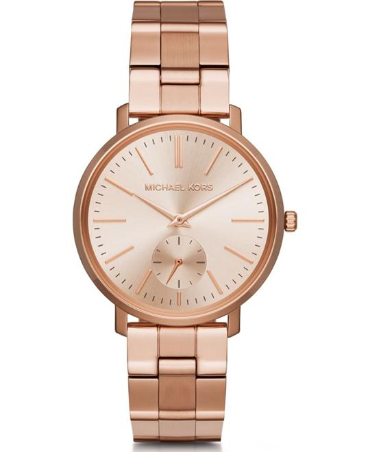 MICHAEL KORS Jaryn Rose Gold-Tone Watch 39mm