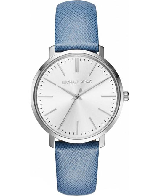 MICHAEL KORS Jaryn Silver-Tone  Watch 38mm
