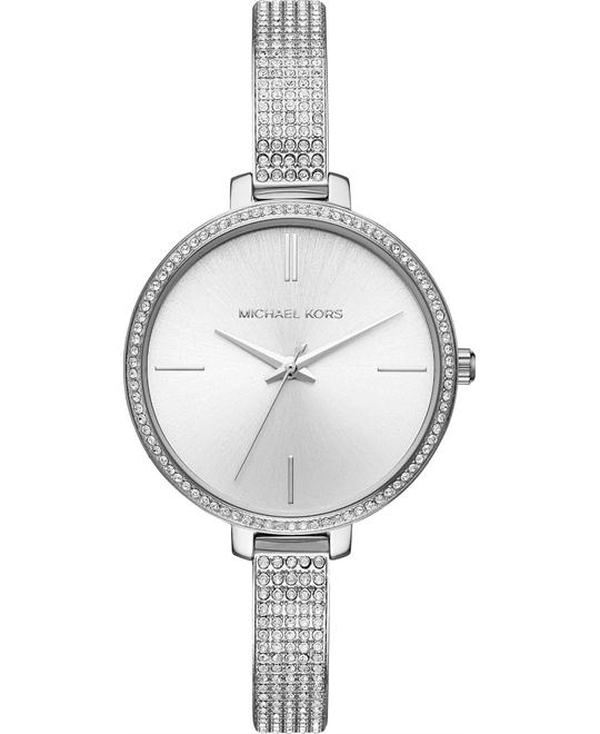 Michael Kors Jaryn Stainless-Steel Watch 36mm