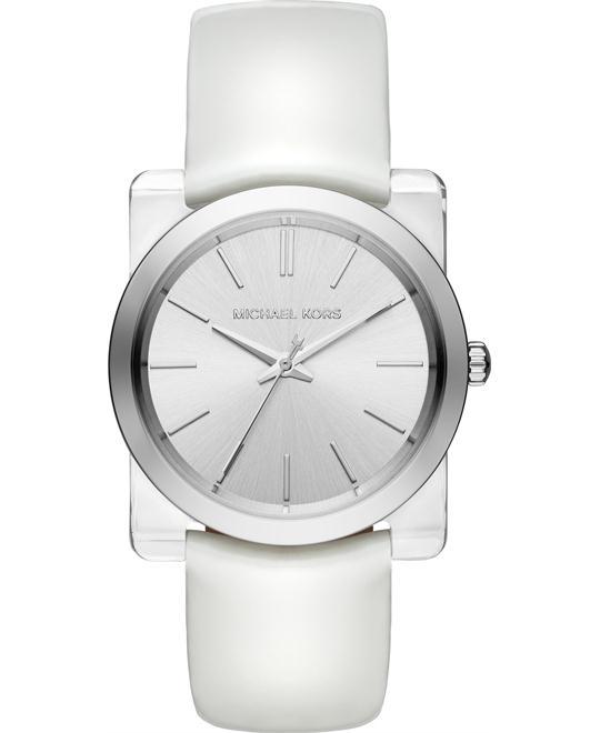 MICHAEL KORS Kempton Silver-Tone Watch 39mm