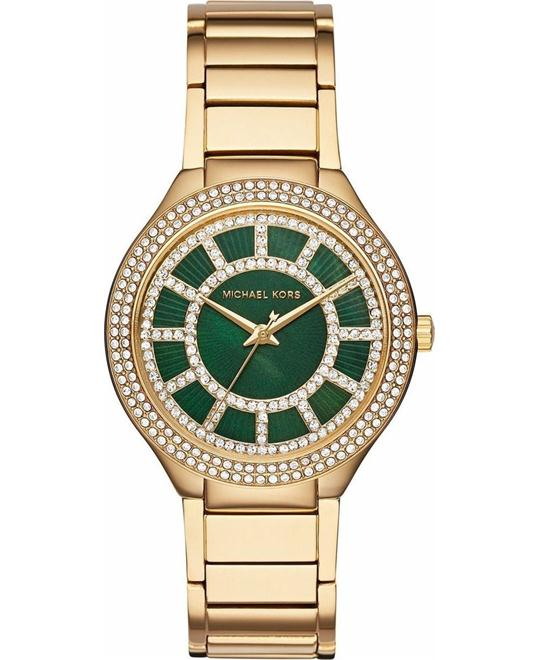MICHAEL KORS  Kerry Pavé Gold-Tone Watch 38mm