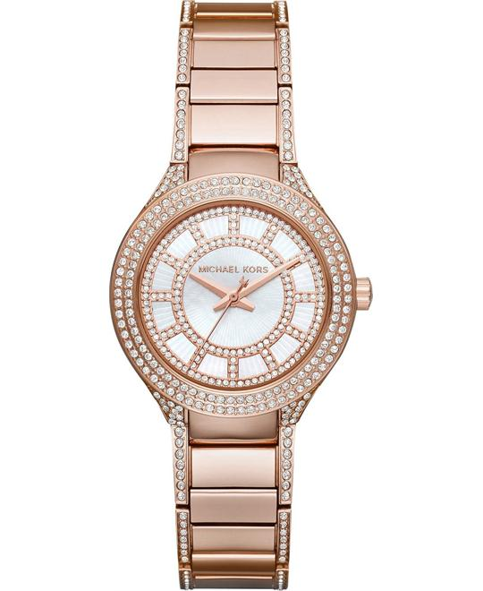 Michael Kors Kerry Rose Gold Mini Watch 33mm