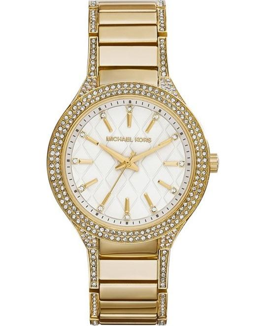 Michael Kors Kerry White Crystal Women's Watch 38mm