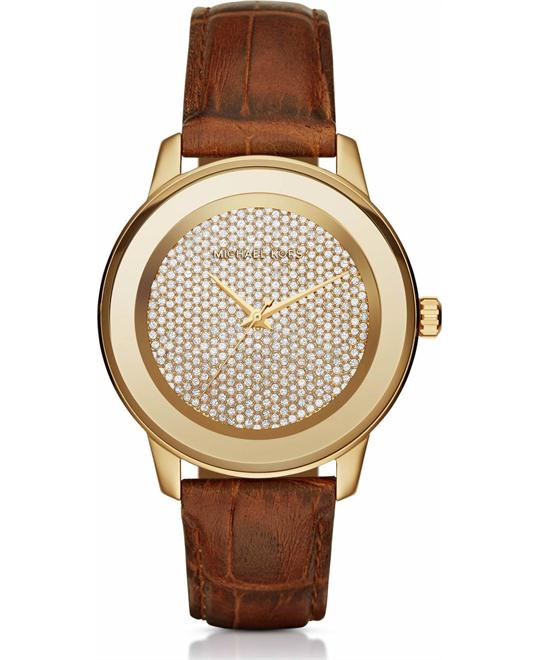 MICHAEL KORS Kinley Crystal Pavé Ladies Watch 41mm
