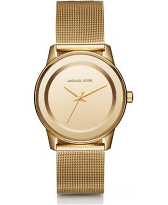 MICHAEL KORS Kinley Gold Tone Watch 38mm