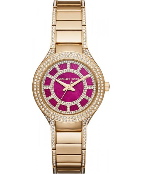 Michael Kors Ladies Kerry Quartz Watch 33mm