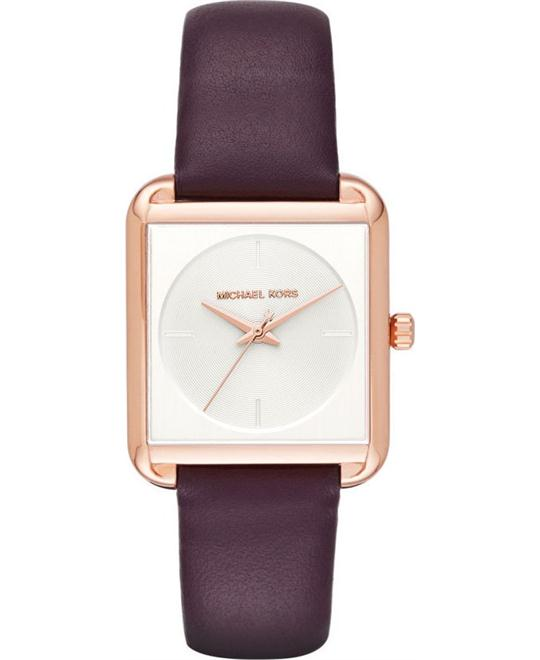MICHAEL KORS Lake Leather Watch 32mm