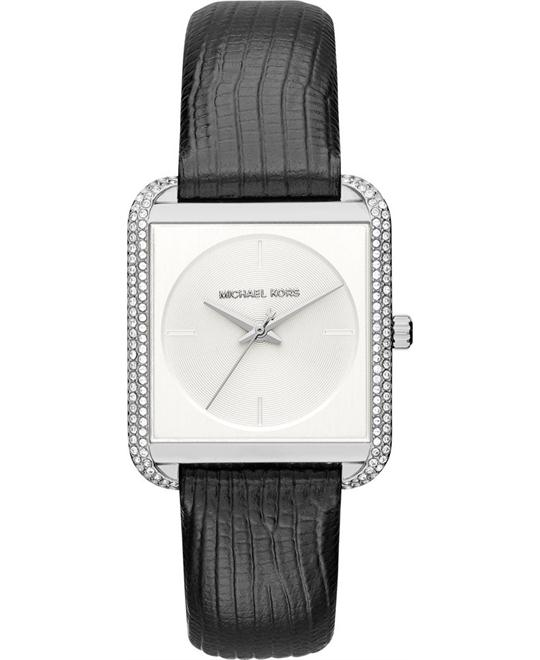 MICHAEL KORS Lake Pavé Silver-Tone Watch 32mm