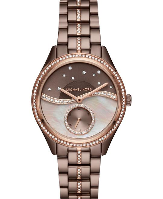 MICHAEL KORS Lauryn Celestial Pavé Sable Watch 38mm