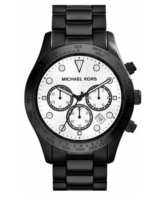 Michael Kors Layton Black Men's Watch 44mm