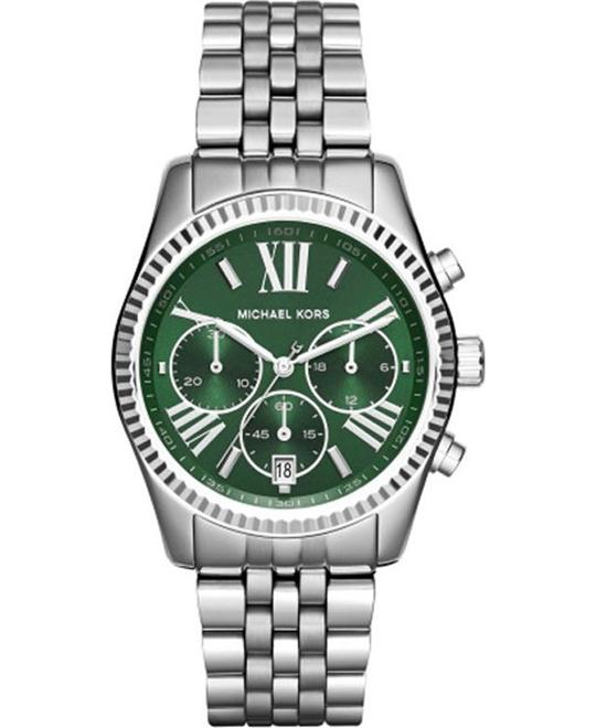 MICHAEL KORS Lexington Chronograph Green Watch 38mm
