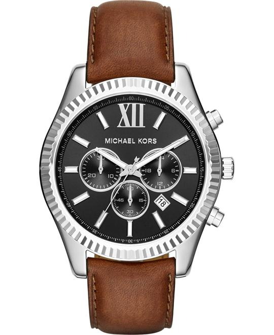 MICHAEL KORS Lexington Chronograph Men's Watch 44mm