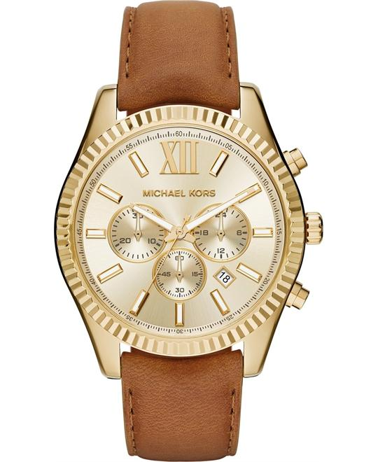 MICHAEL KORS Lexington Chronograph Watch 44mm