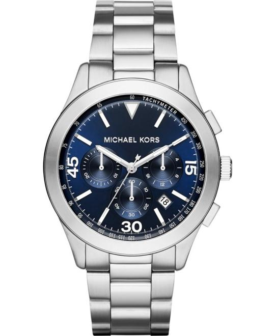 MICHAEL KORS Gareth Chronograph Blue Watch 43mm