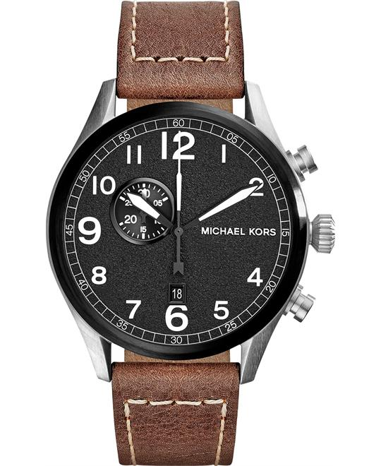 Michael Kors Hangar Brown Men's Watch 45mm