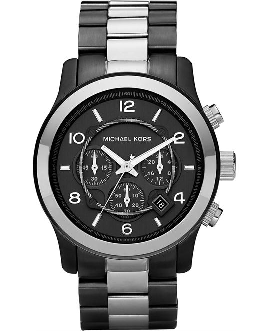 Michael Kors RunwayTwo Tone Men's Watch 45mm