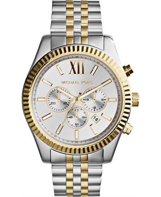 Michael Kors Lexington Two-tone Men's Watch 45mm