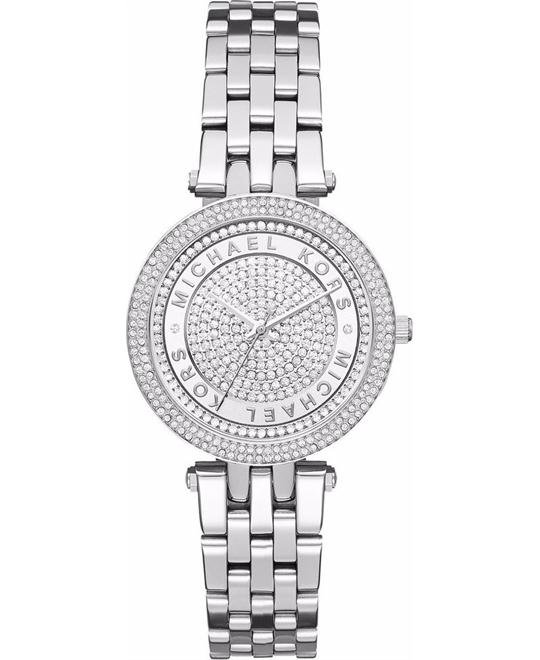MICHAEL KORS Mini Darci Stainless Steel Ladies Watch 33mm