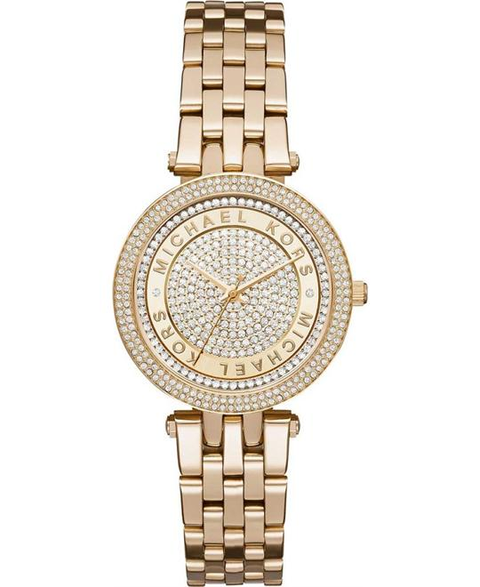 Michael Kors Mini Darci Women's Gold Watch 33mm