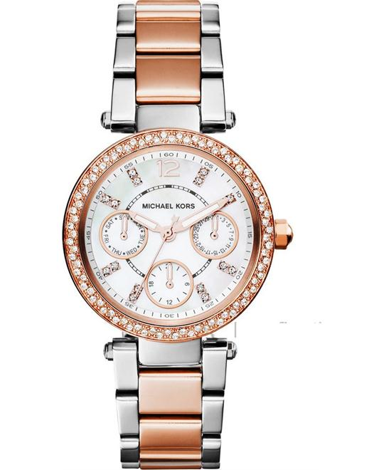 MICHAEL KORS Mini Parker GMT Ladies Watch 33mm