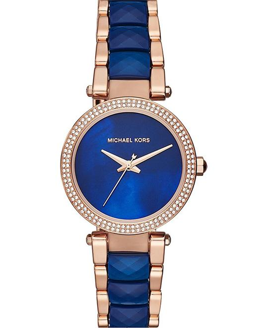 Michael Kors Mini Parker Three-Hand Watch 33mm