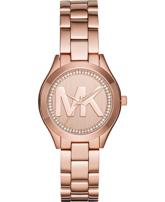 MICHAEL KORS Mini Slim Runway Ladies Watch 33mm
