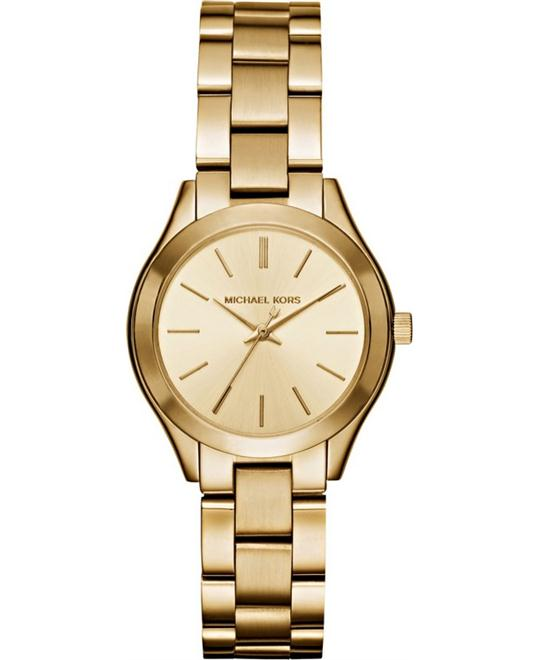 MICHAEL KORS Mini Slim Runway Ladies Watch 34mm