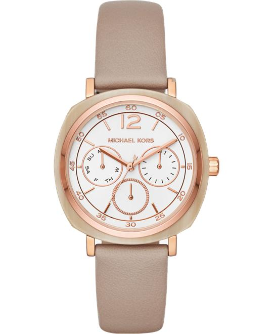 MICHAEL KORS Nia Rose Gold-Tone Watch 38mm
