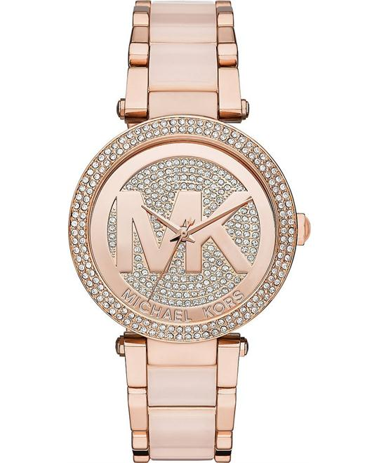 Michael Kors  Parker Blush Acetate Women's Watch 39mm