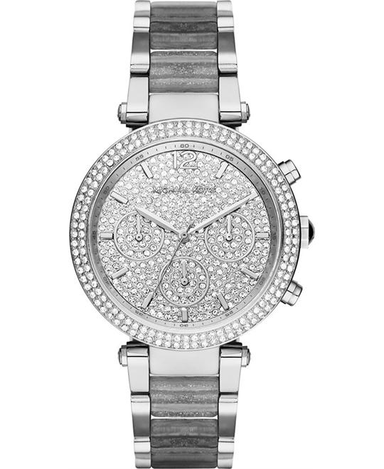 MICHAEL KORS Parker Crystal Pave Watch 39mm