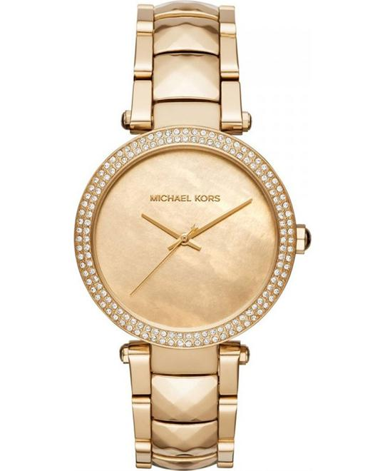 Michael Kors Parker Gold-Tone Women's Watch 39mm
