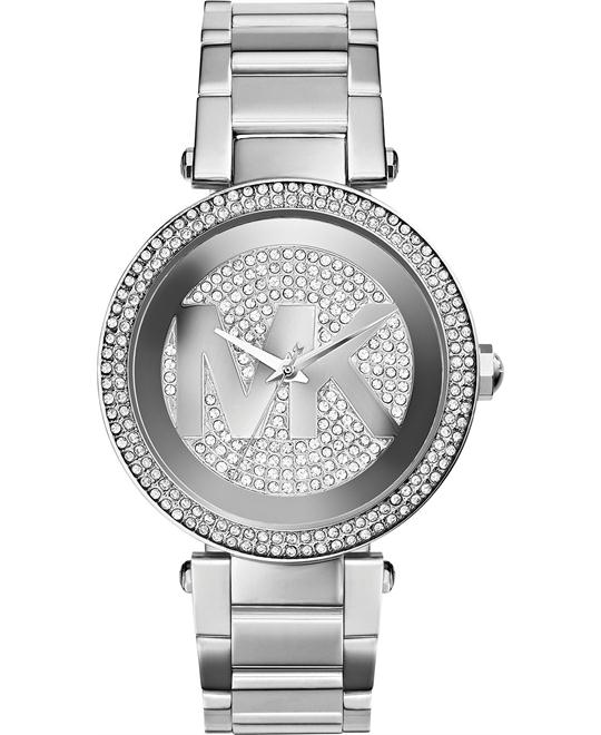 Michael Kors Parker Pavé Silver Women's Watch 39mm