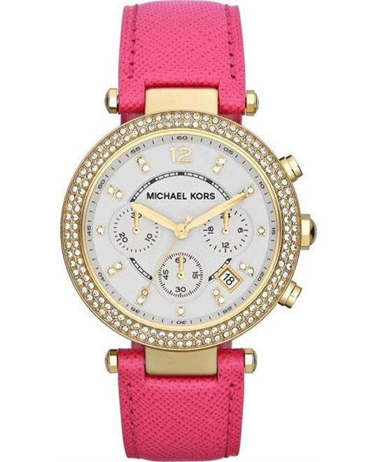 Michael Kors Parker Pink Women's Watch 39mm