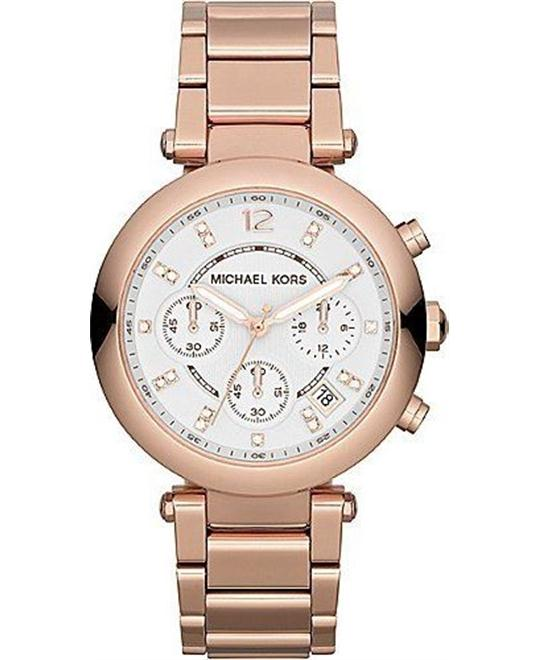Michael Kors Parker Rose Gold Women's Watch 39mm