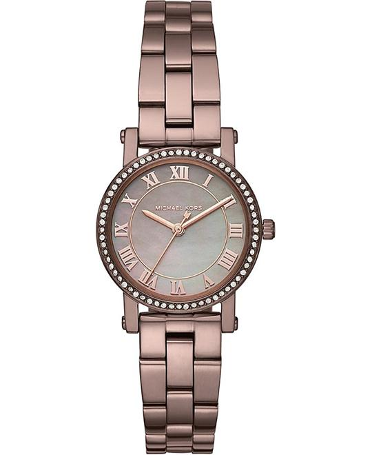 Michael Kors Petite Sable IP Three-Hand Watch 28mm