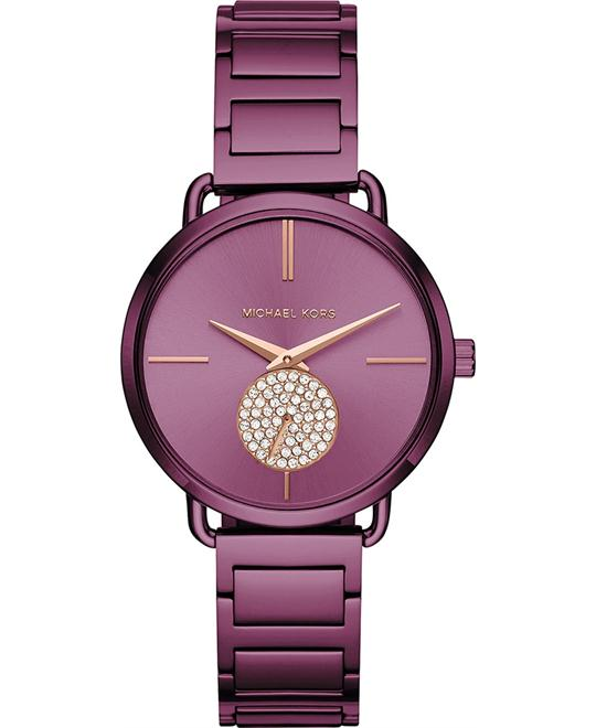 đồng hồ Michael Kors Portia Plum Watch 36mm
